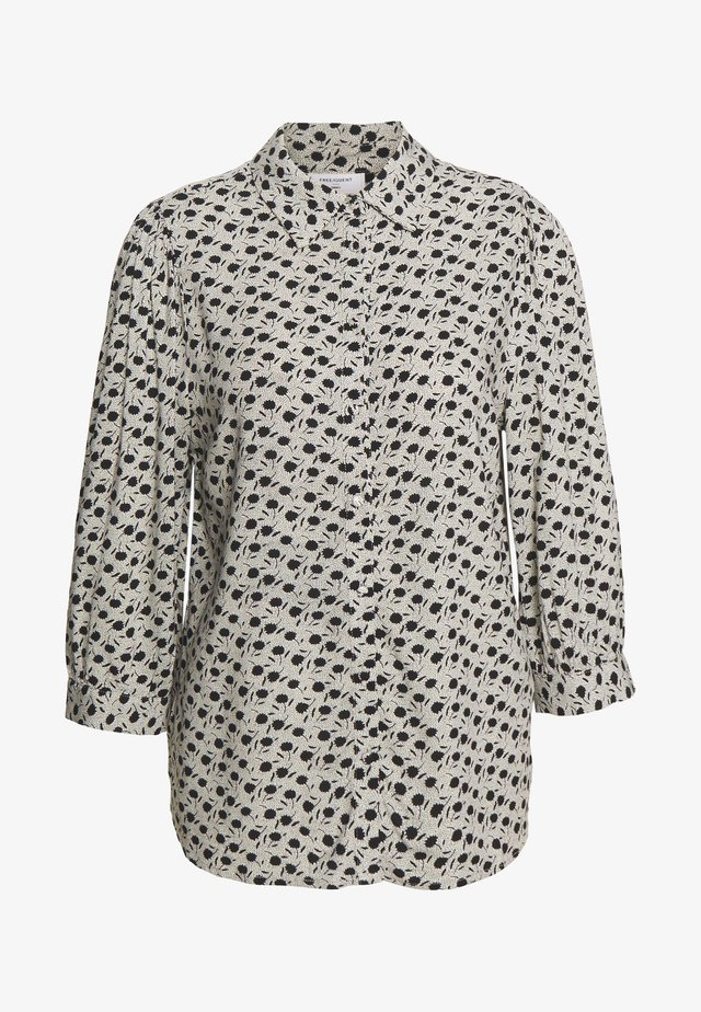 Button-down blouse - offwhite mix