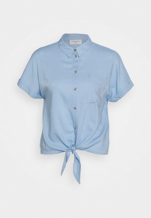 Hemdbluse - blue