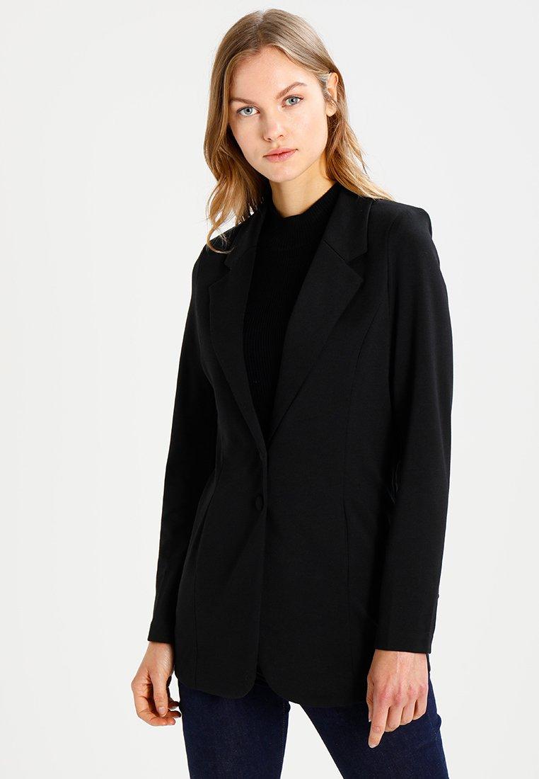 Freequent - Krátký kabát - black