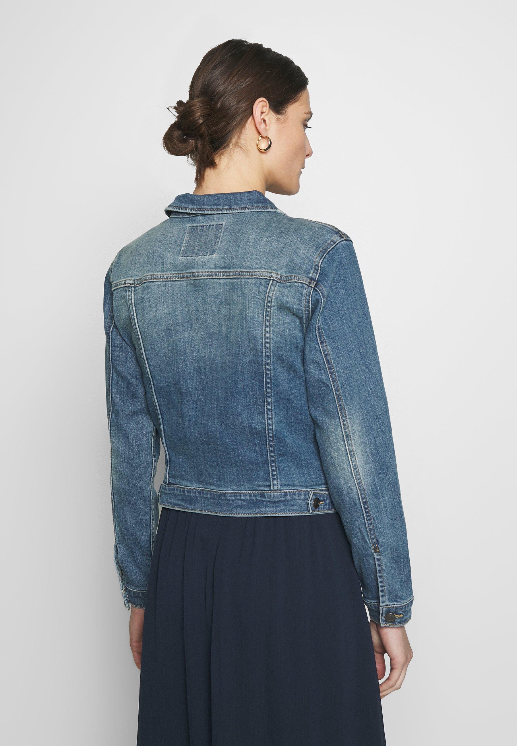 Freequent ROCK - Kurtka jeansowa - vintage blue denim