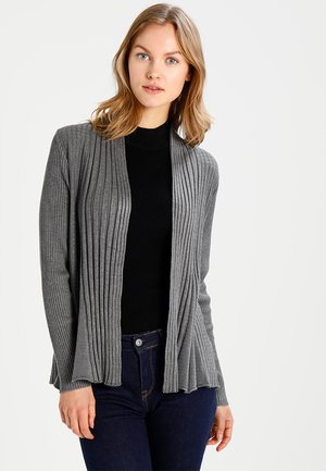 CLAUDISSE CAR - Cardigan - dark grey melange