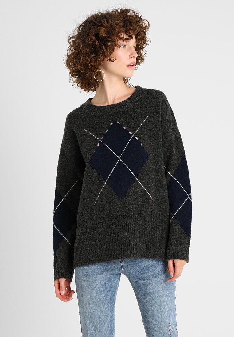 Freequent ZOOLY - Pullover dark grey