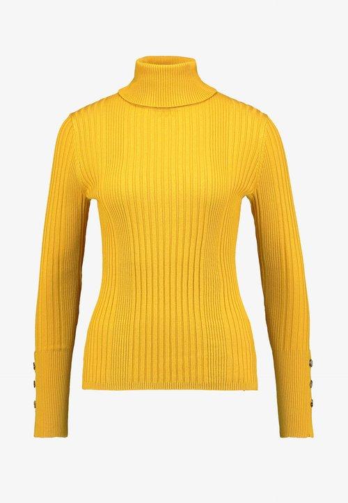 w ofercie Freequent Sweter - golden yellow Odzież Damska AXXW-VZ6