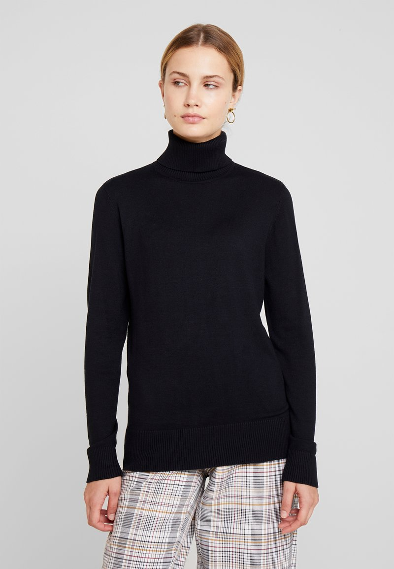 Freequent - JOANNE ROLL - Pullover - black