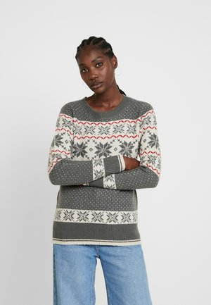 FLAKE - Pullover - grey