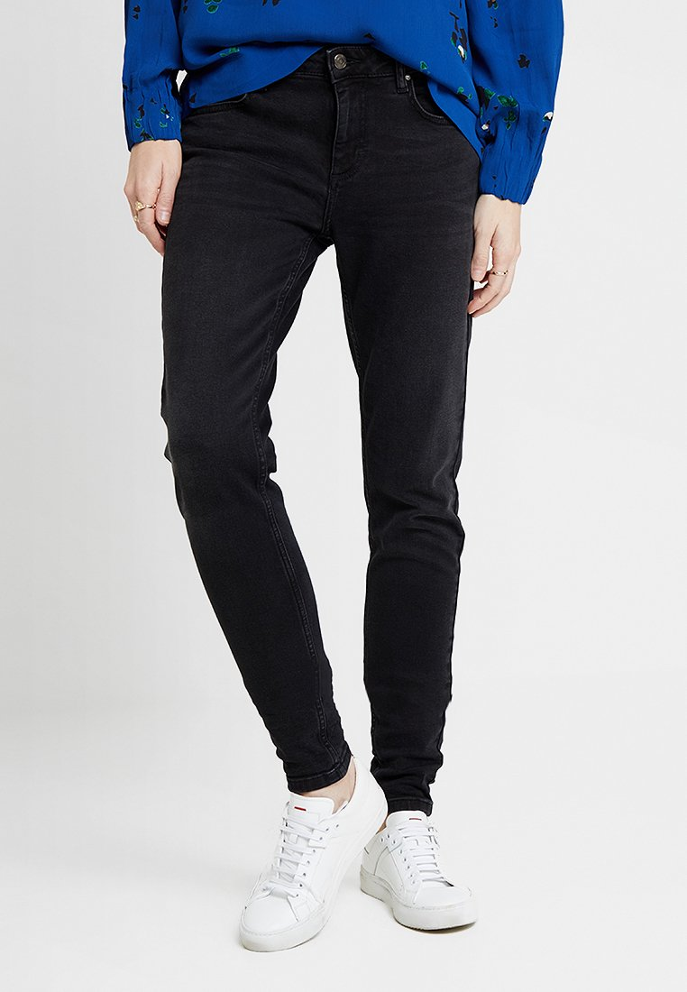 Freequent - Slim fit jeans - black