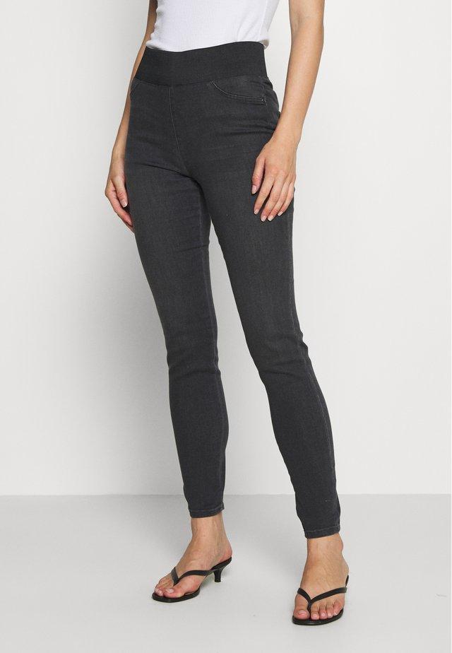 FQSHANTAL - Jeans Skinny Fit - dark grey denim