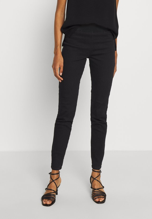 FQSHANTAL - Jeansy Skinny Fit - black denim