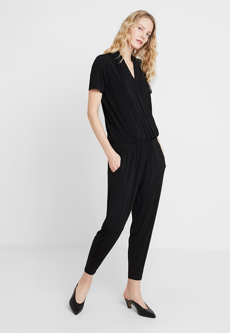 Freequent - Overall / Jumpsuit /Buksedragter - black