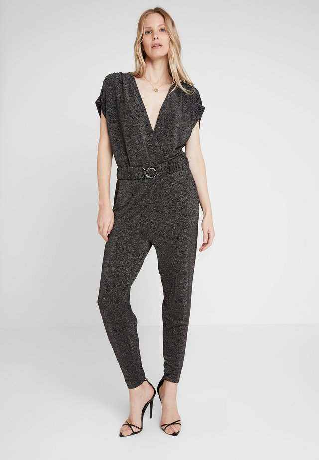 TWINKLE - Tuta jumpsuit - black/silver