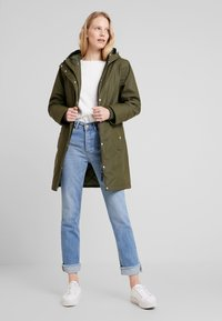 Freequent - Parka - olive night - 2