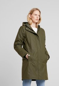 Freequent - Parka - olive night - 0