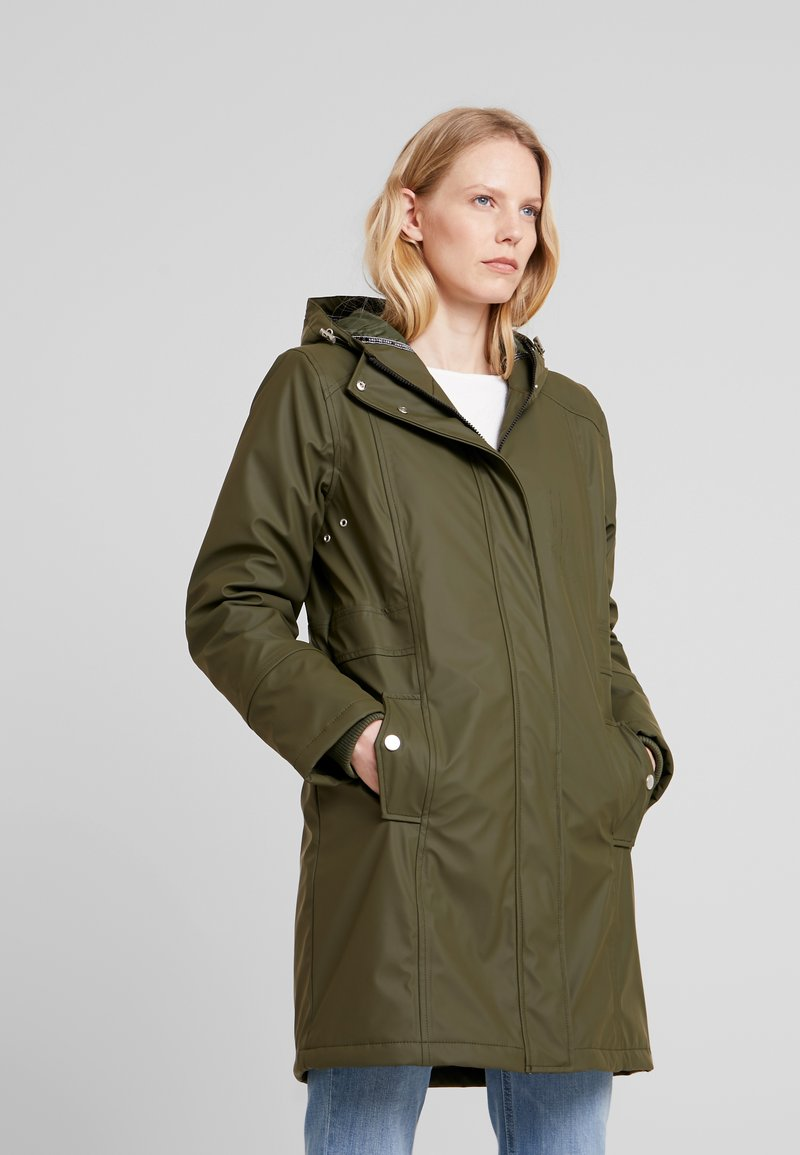 Freequent - Parka - olive night