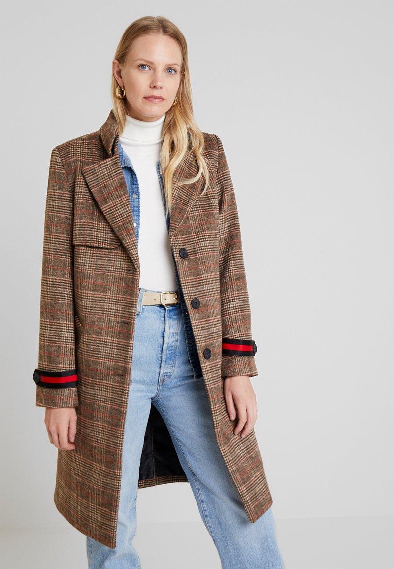 Freequent - SONI-JA - Classic coat - brown/red