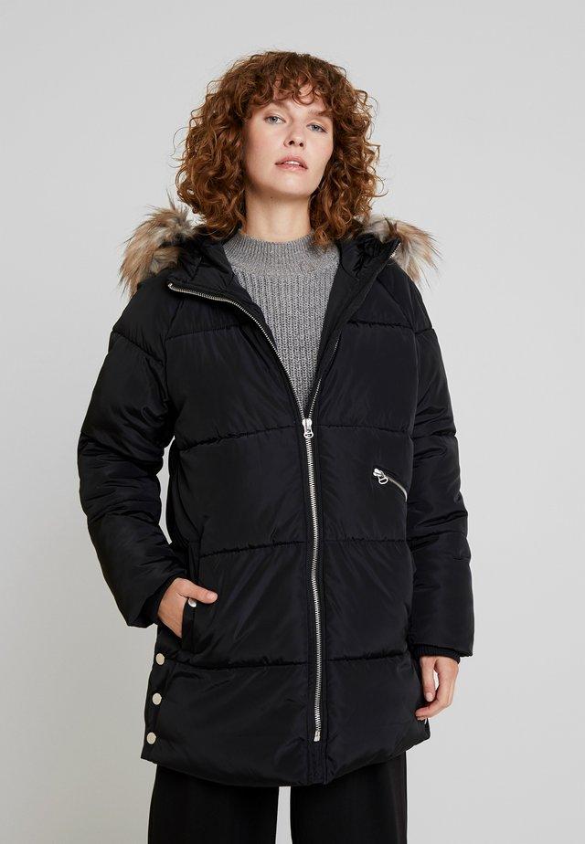 PARK JA - Winter coat - black
