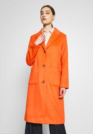 VENICE - Płaszcz wełniany /Płaszcz klasyczny - red orange