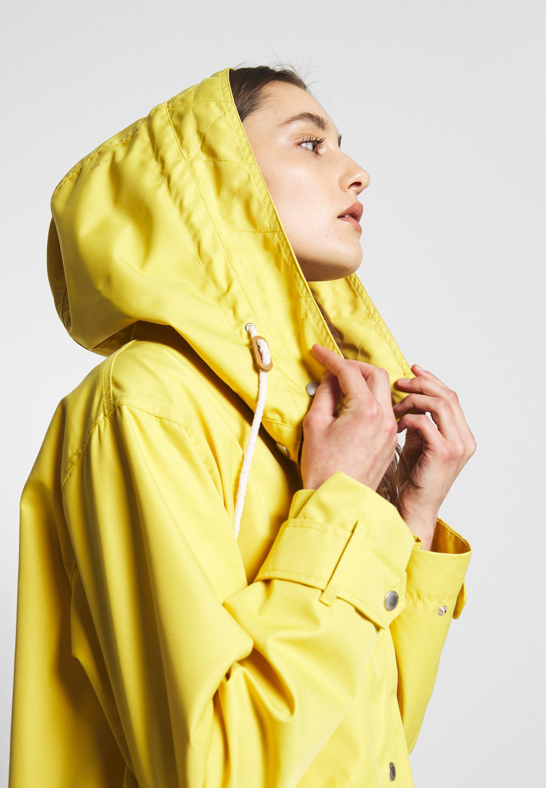 Freequent TOBIA - Kurtka wiosenna - cream gold