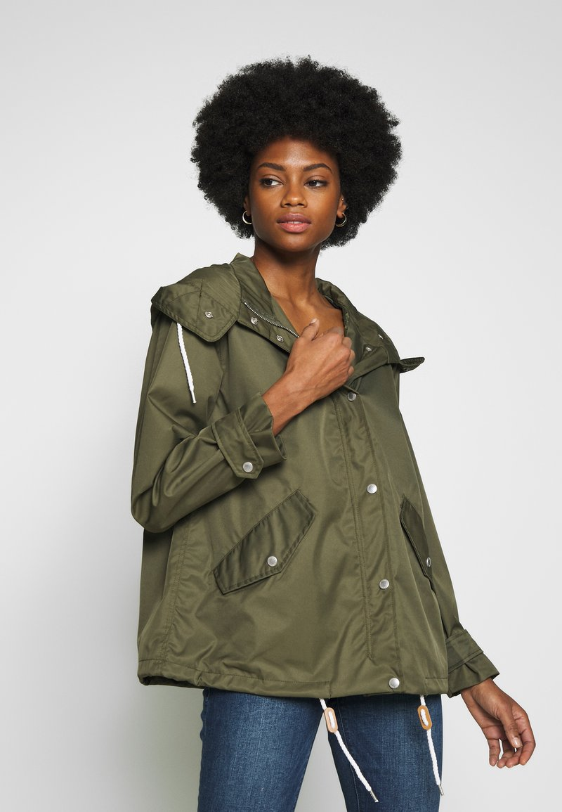 Freequent - TOBIA - Summer jacket - olive night