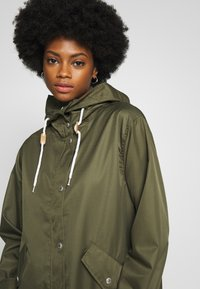 Freequent - TOBIA - Summer jacket - olive night - 3