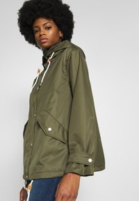 Freequent - TOBIA - Summer jacket - olive night - 4
