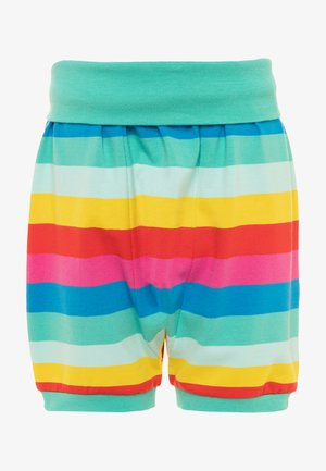 ORGANIC COTTON SHALLOT RAINBOW BABY - Shorts - flamingo/multicolor