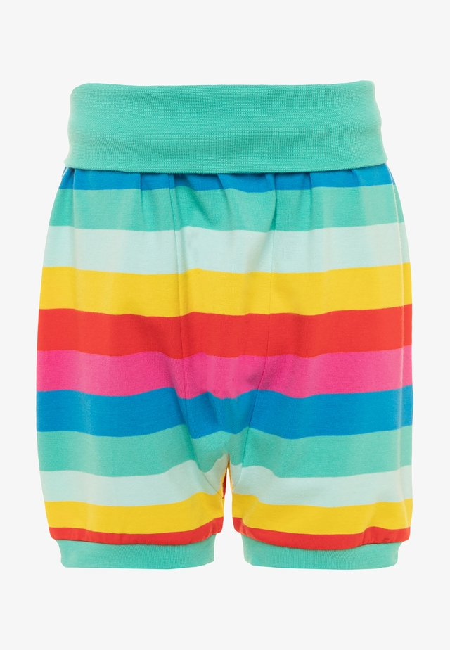 ORGANIC COTTON SHALLOT RAINBOW BABY - Shorts - flamingo/multicolor