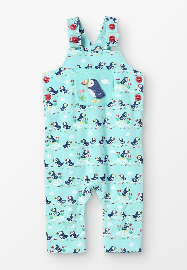 LOVELY DAY DUNGAREE BABY - Jumpsuit - mint