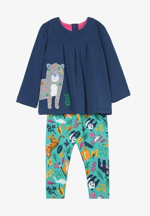 OTTILIE OUTFIT BABY - Leggings - space blue