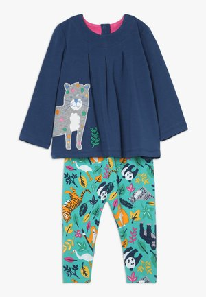 OTTILIE OUTFIT BABY - Legging - space blue