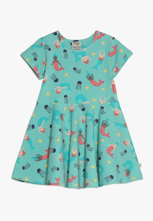 LITTLE SPRING SKATER DRESS BABY - Jersey dress - mint