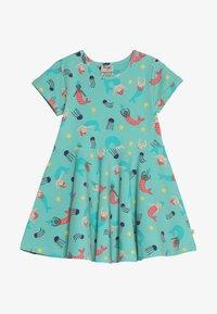 Frugi - LITTLE SPRING SKATER DRESS BABY - Jersey dress - mint - 2