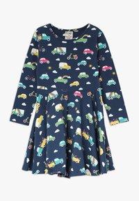 Frugi - SOFIA SKATER DRESS - Žerzejové šaty - space blue - 0