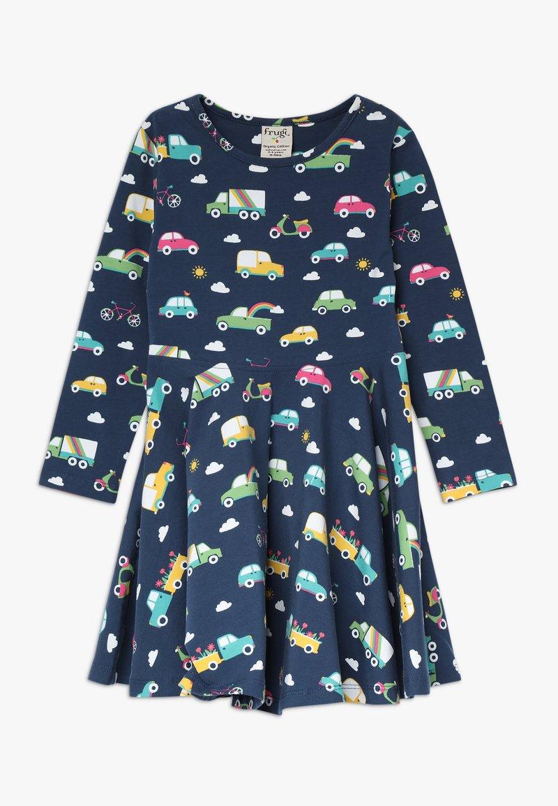Frugi - SOFIA SKATER DRESS - Žerzejové šaty - space blue