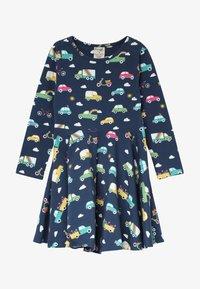 Frugi - SOFIA SKATER DRESS - Žerzejové šaty - space blue - 2