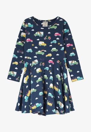 SOFIA SKATER DRESS - Žerzejové šaty - space blue