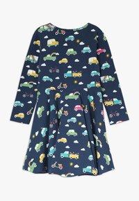 Frugi - SOFIA SKATER DRESS - Žerzejové šaty - space blue - 1