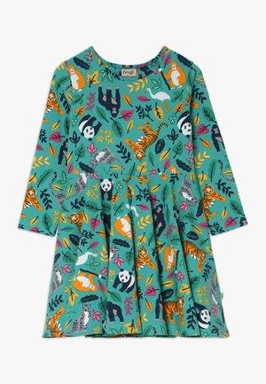 SOFIA SKATER DRESS - Jerseyklänning - aqua