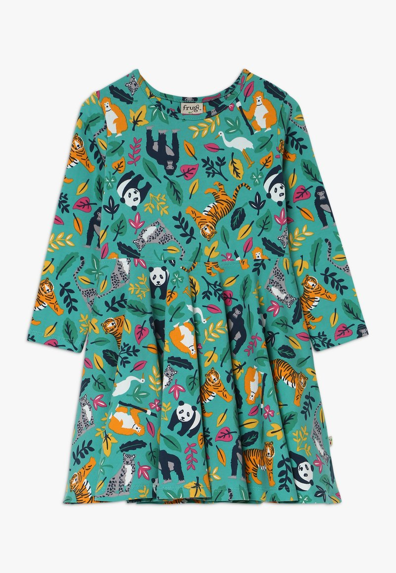 Frugi - SOFIA SKATER DRESS - Žerzejové šaty - aqua