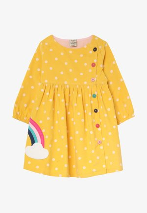 BONNIE BUTTON DRESS - Denní šaty - bumble bee