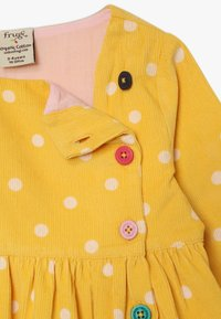 Frugi - BONNIE BUTTON DRESS - Korte jurk - bumble bee - 3
