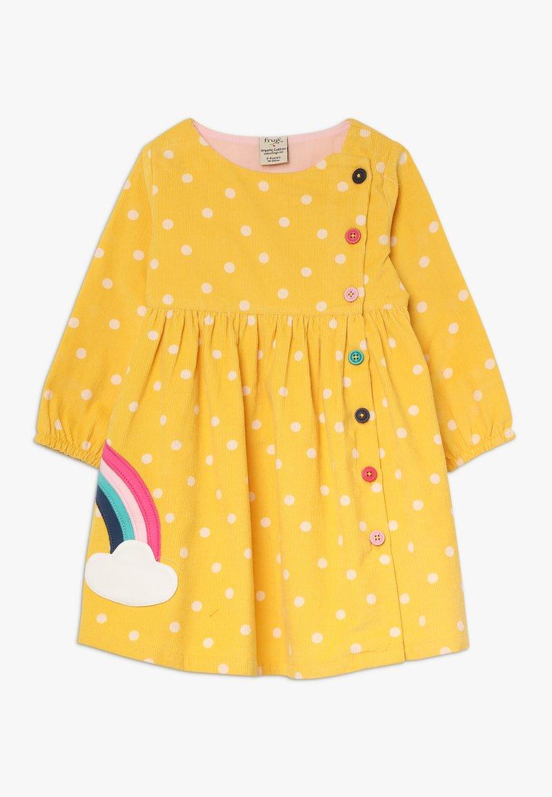 Frugi - BONNIE BUTTON DRESS - Korte jurk - bumble bee