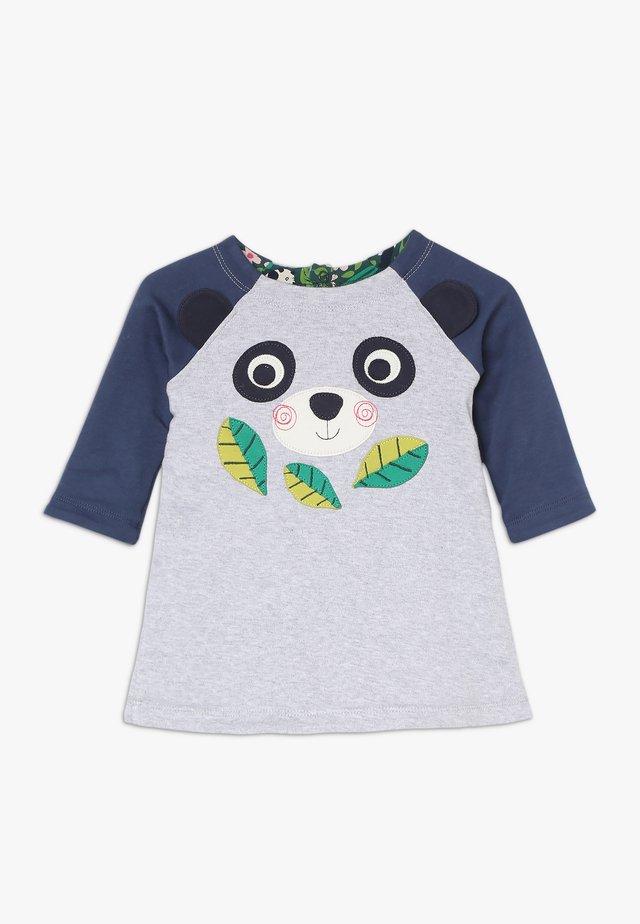 PEEK A BOO DRESS BABY REVERSIBLE  - Sukienka z dżerseju - grey