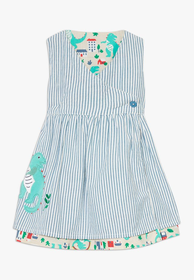 NORA REVERSIBLE DRESS BABY - Freizeitkleid - blue/multicolor