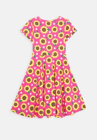 Frugi - SOFIA SKATER DRESS SUNFLOWERS - Sukienka z dżerseju - flamingo - 1