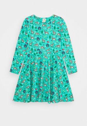 SOFIA SKATER DRESS - Jersey dress - pacific aqua