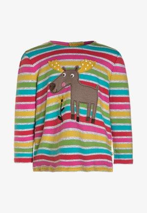 BABY GIRL CONNIE APPLIQUE - Longsleeve - rainbow marl