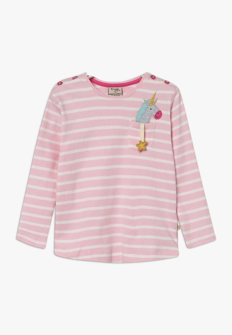 Frugi - LOUISE POCKET - Langarmshirt - soft pink breton
