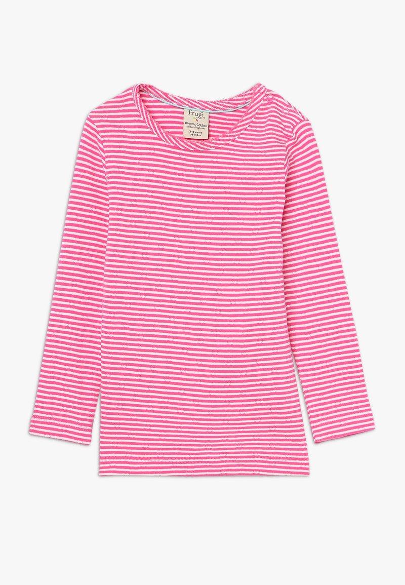 Frugi - MIA POINTELLE - T-shirt à manches longues - flamingo