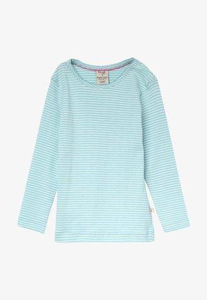 MIA POINTELLE - Pitkähihainen paita - topaz blue