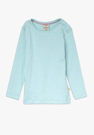MIA POINTELLE - T-shirt à manches longues - topaz blue